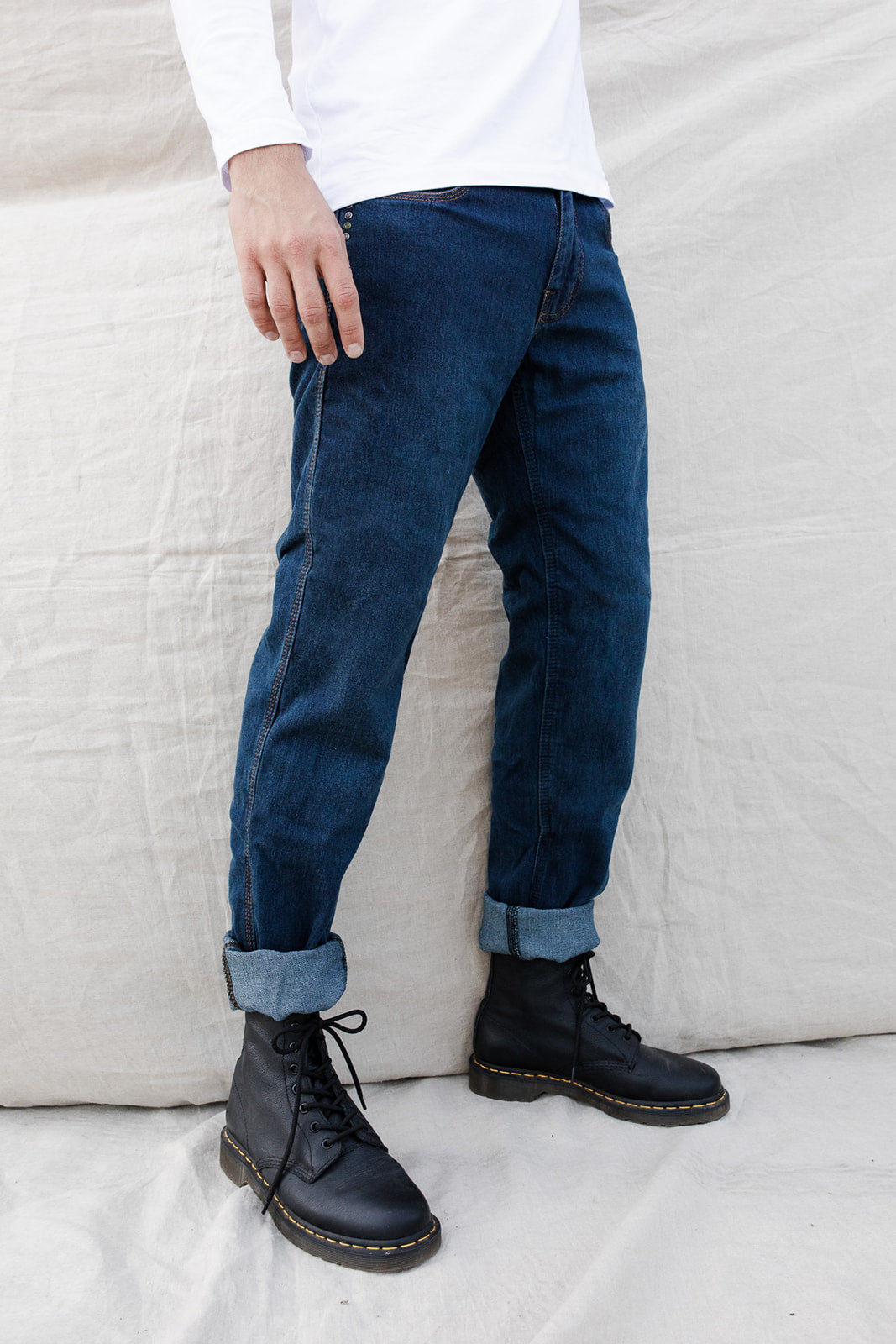 Florida Washed Blue Jeans - Regular - Kevlar®