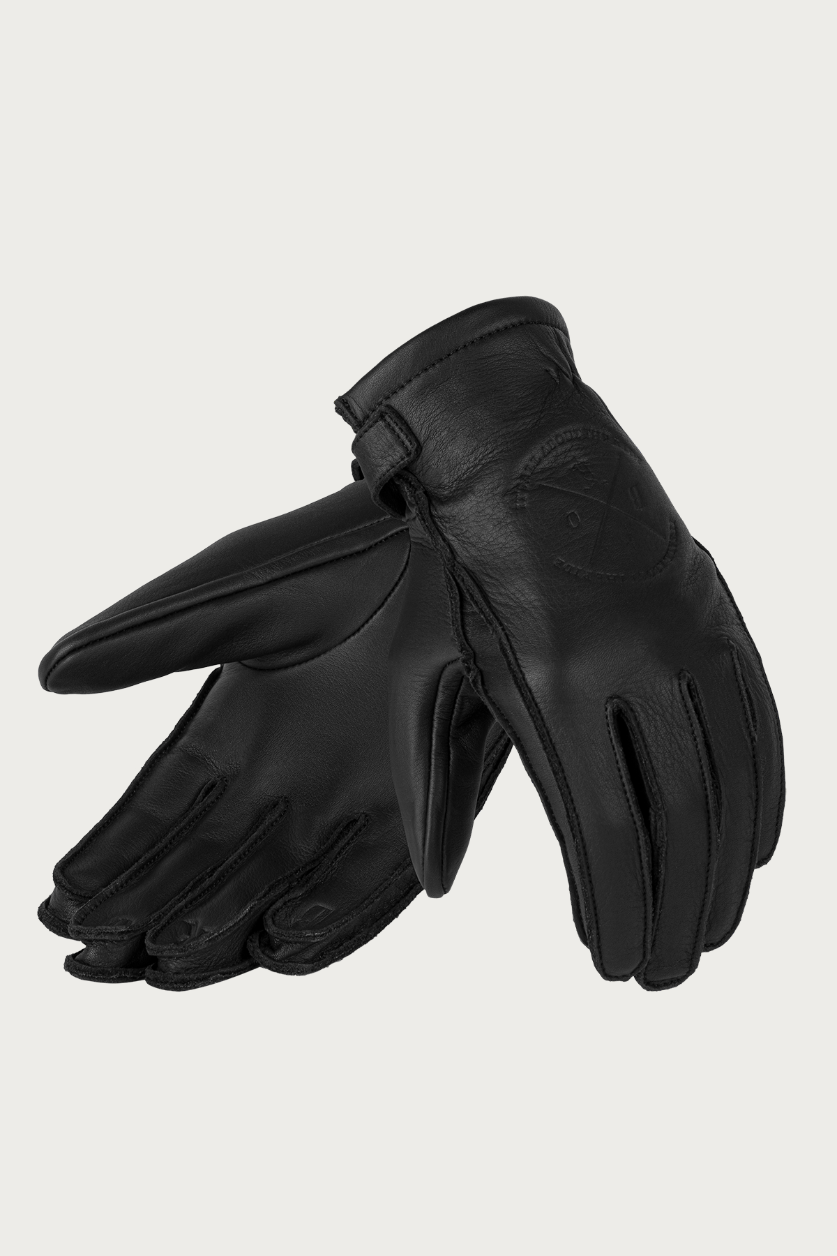 Alaska Lady Black Motorcycle Gloves