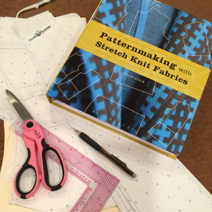 Book Review #1 - Patternmaking with Stretch Knit Fabrics by Julie Cole