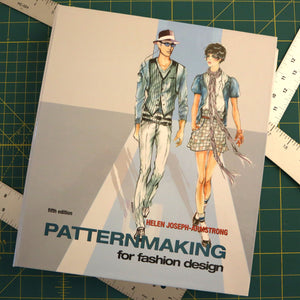 Book Review #3 - Patternmaking for Fashion Design by Helen Joseph-Armstrong