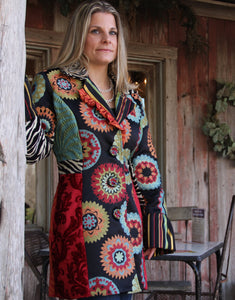 Suzani Long Jacket