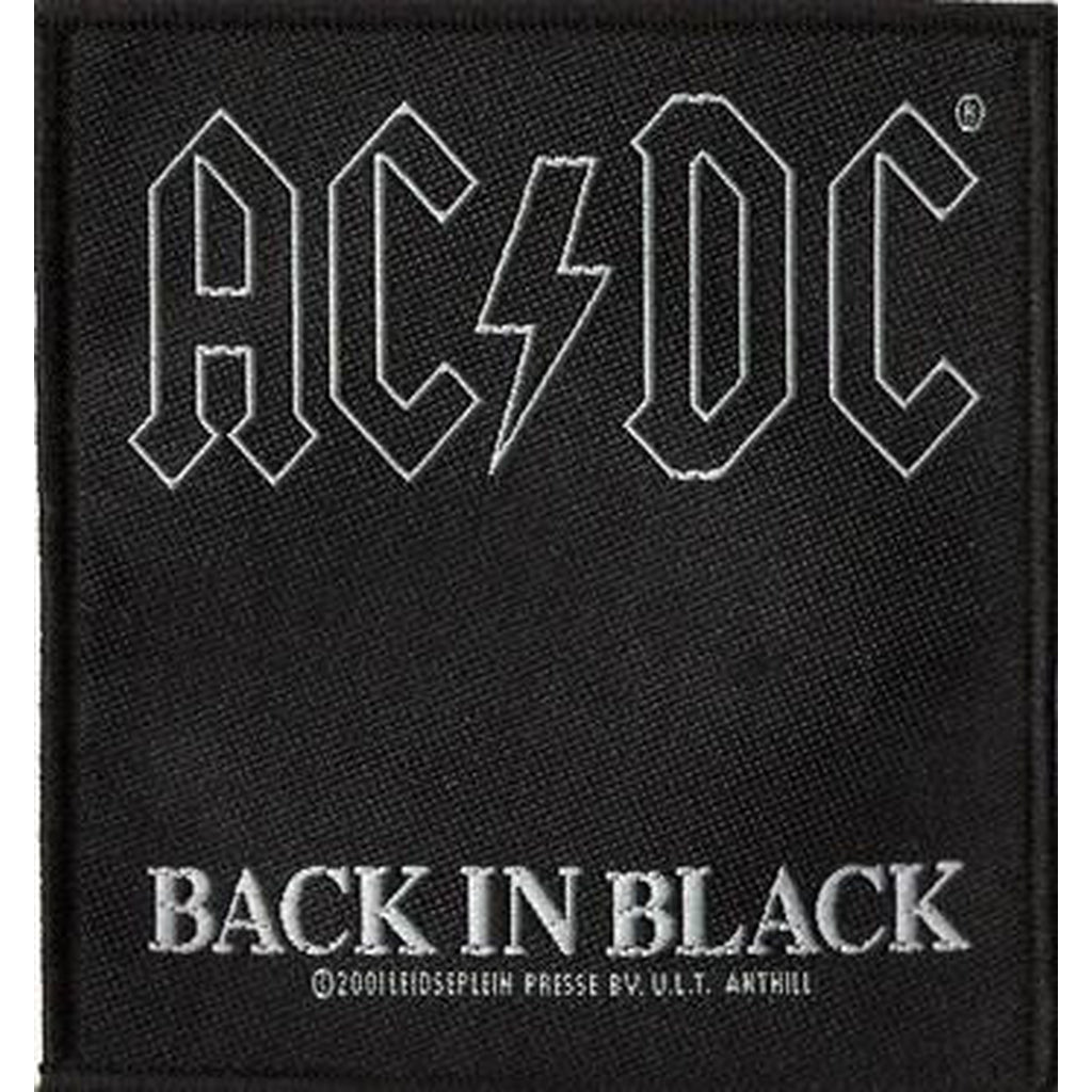 AC/DC - Back in black hihamerkki - Hoopee.fi