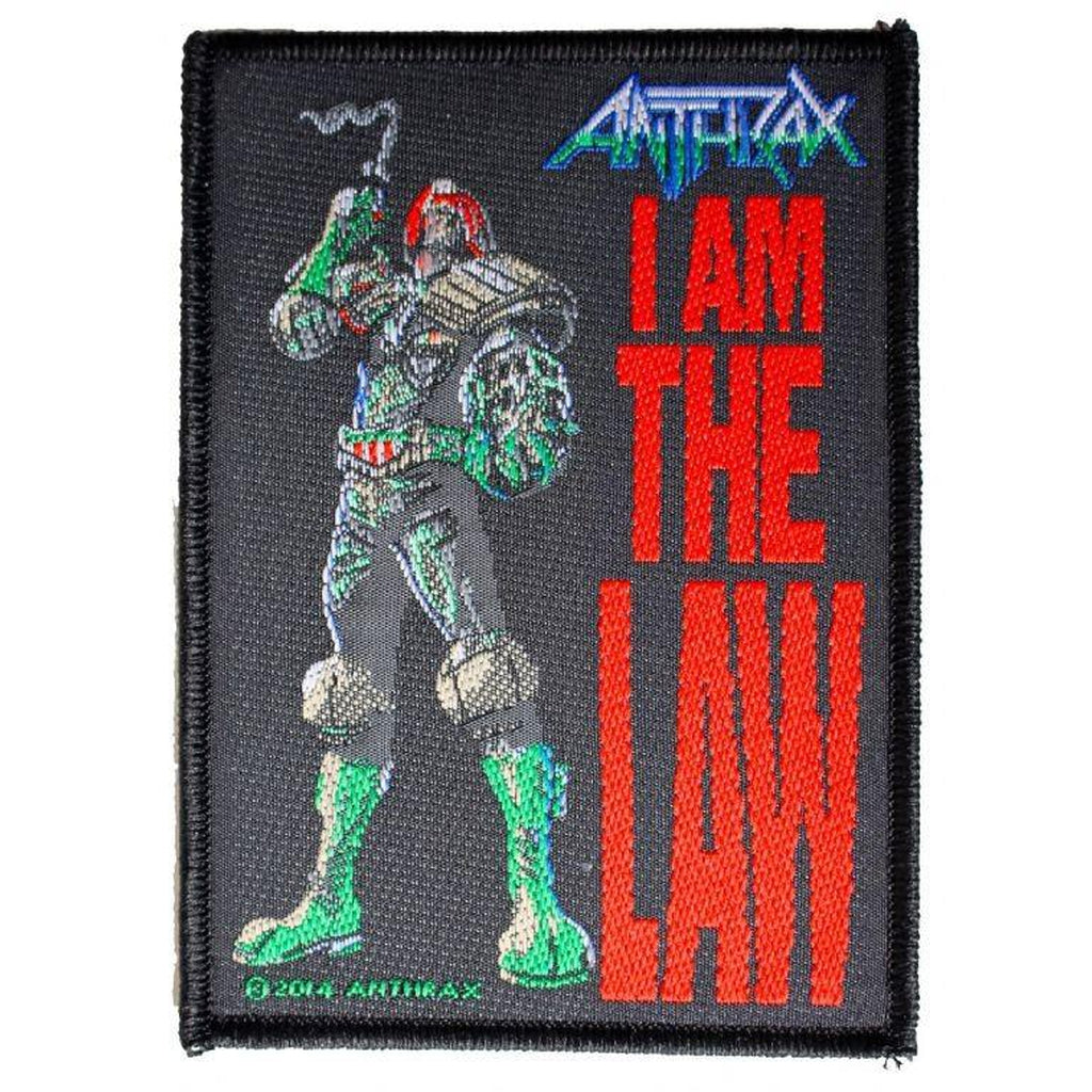 Anthrax - I am the law hihamerkki - Hoopee.fi