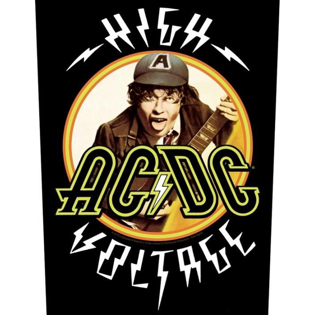 AC/DC - High voltage selkämerkki - Hoopee.fi
