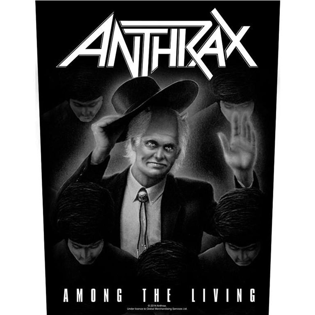 Anthrax - Among the living selkämerkki - Hoopee.fi