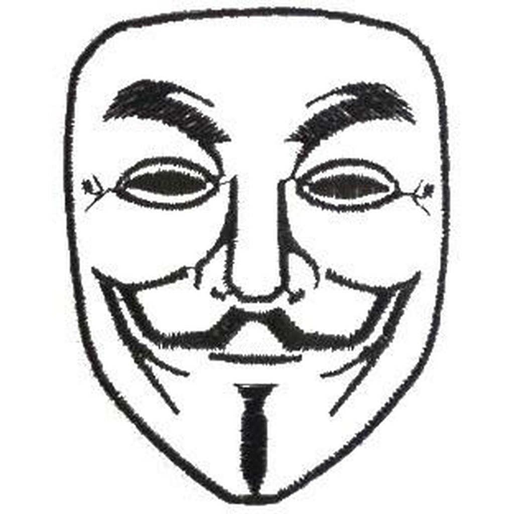 Anonymous mask hihamerkki - Hoopee.fi