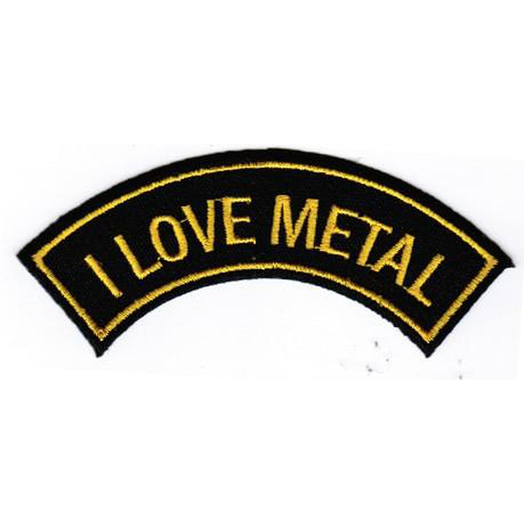 I love metal kaarimerkki - Hoopee.fi