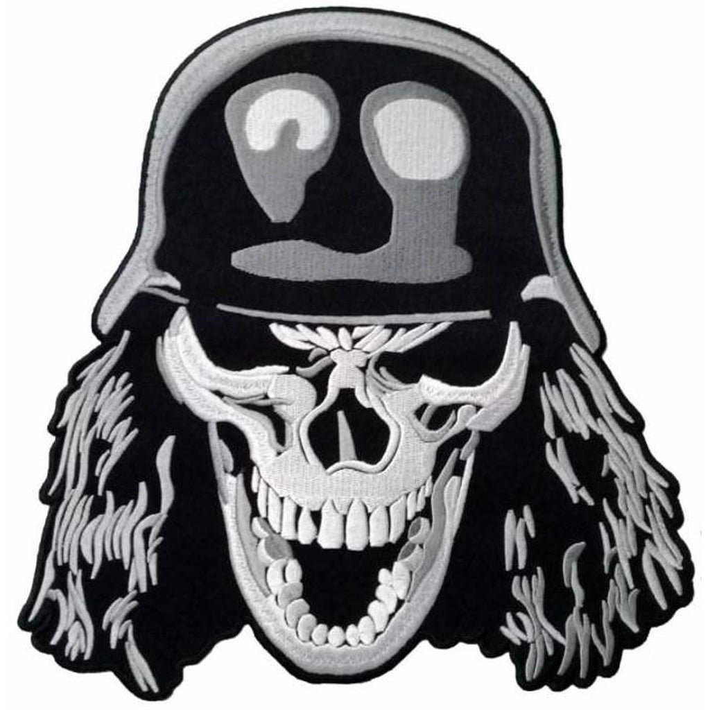 Big skull on helmet jumbomerkki - Hoopee.fi