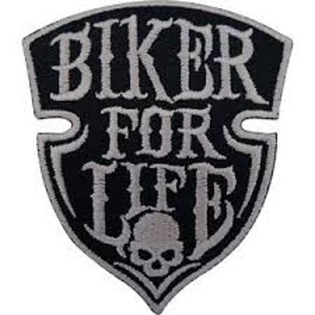 Biker For Life kangasmerkki - Hoopee.fi