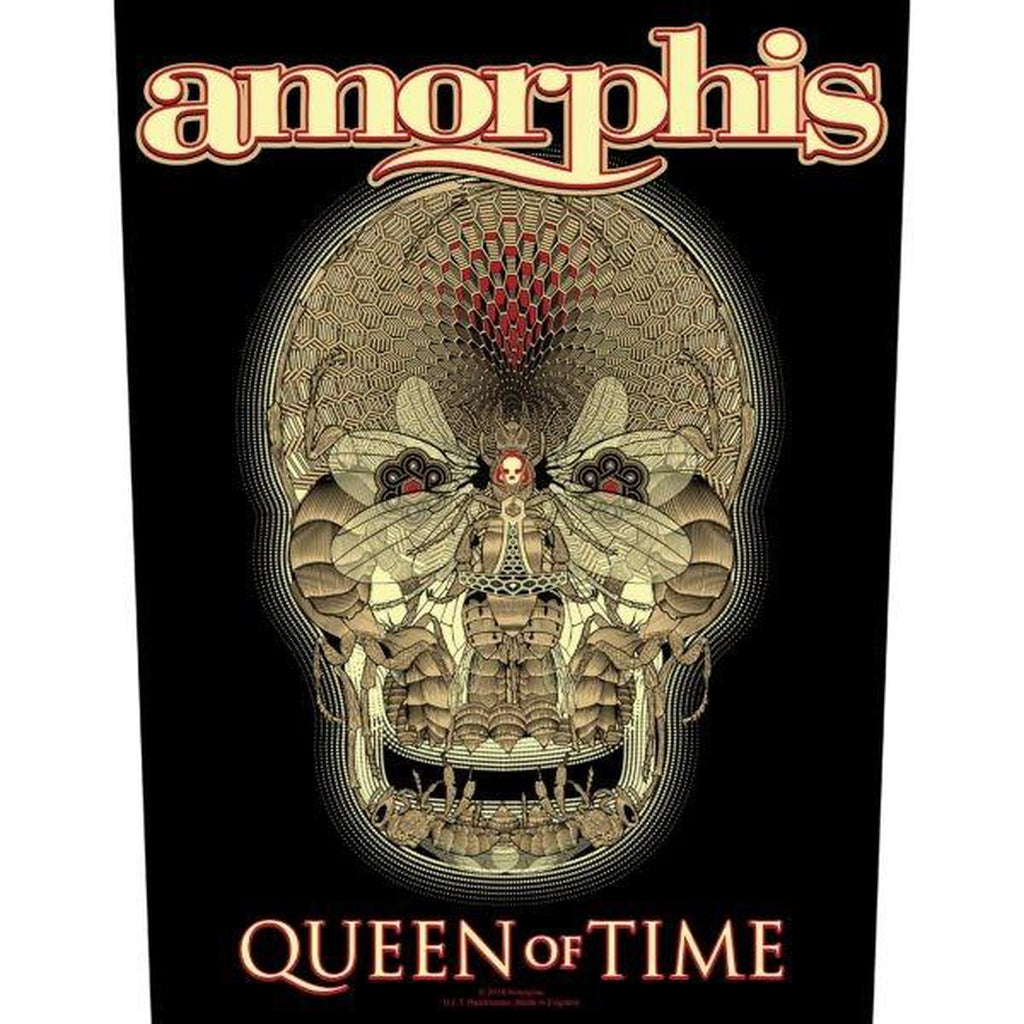 Amorphis - Queen of time selkämerkki - Hoopee.fi