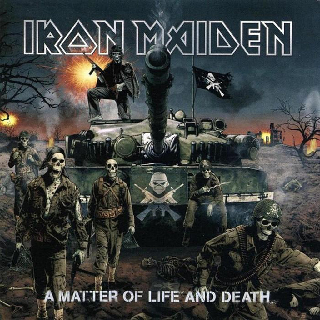 Iron Maiden - A matter of life and death tarra - Hoopee.fi