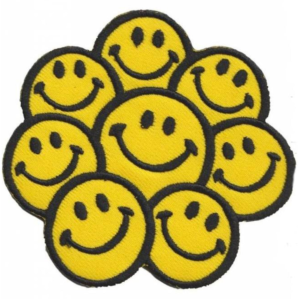 8 x smiley hihamerkki - Hoopee.fi