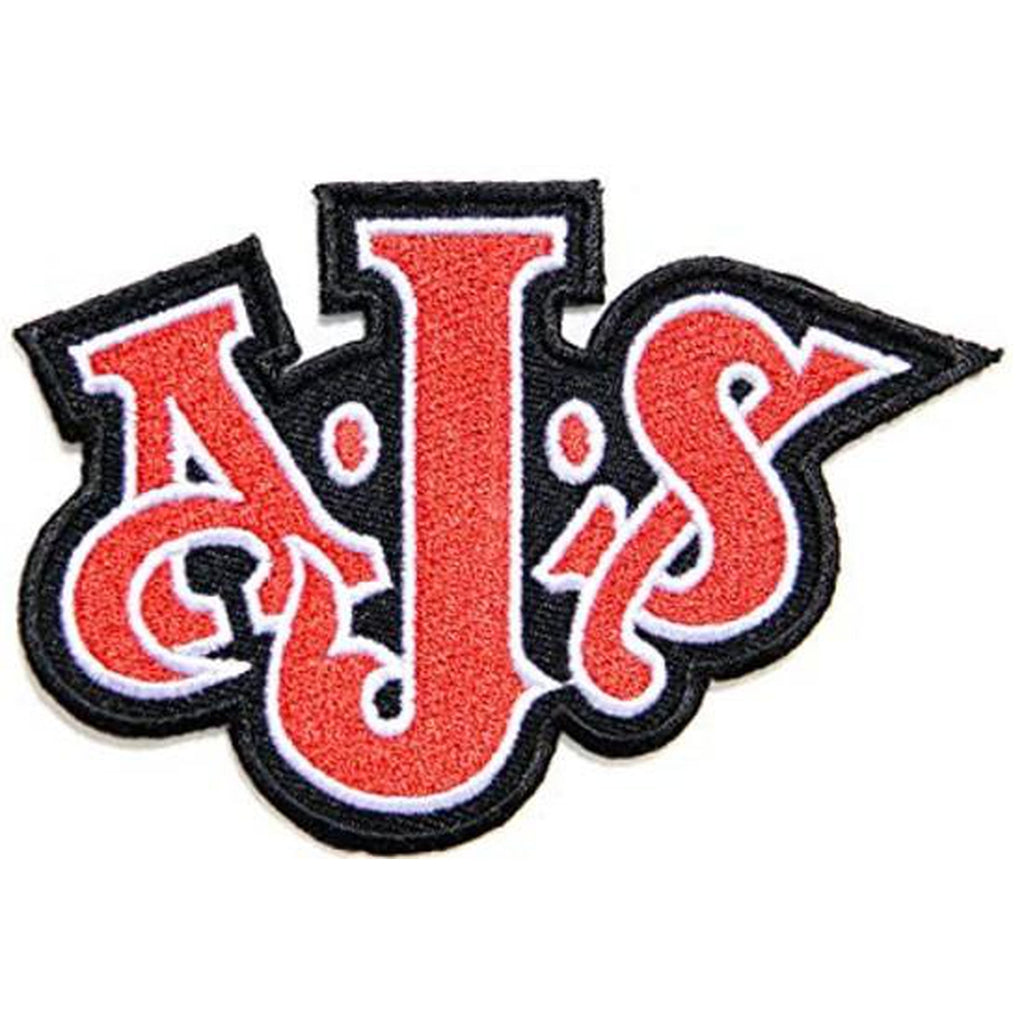 AJS shaped logo kangasmerkki - Hoopee.fi