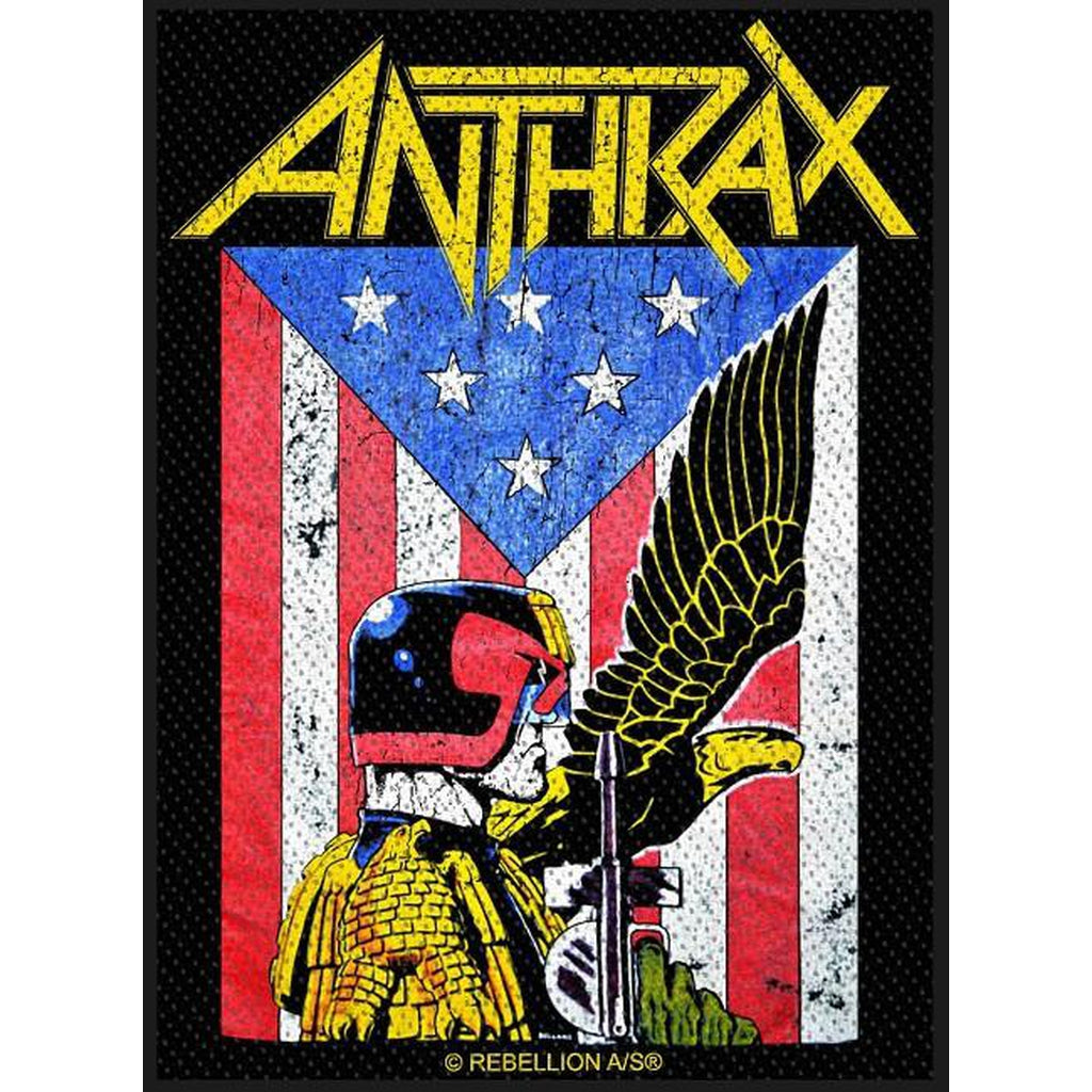Anthrax - Judge Dredd hihamerkki - Hoopee.fi