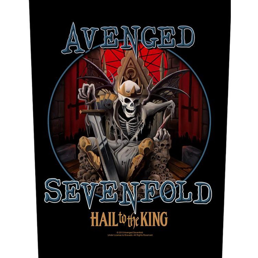 Avenged Sevenfold - Heil to the king selkämerkki - Hoopee.fi