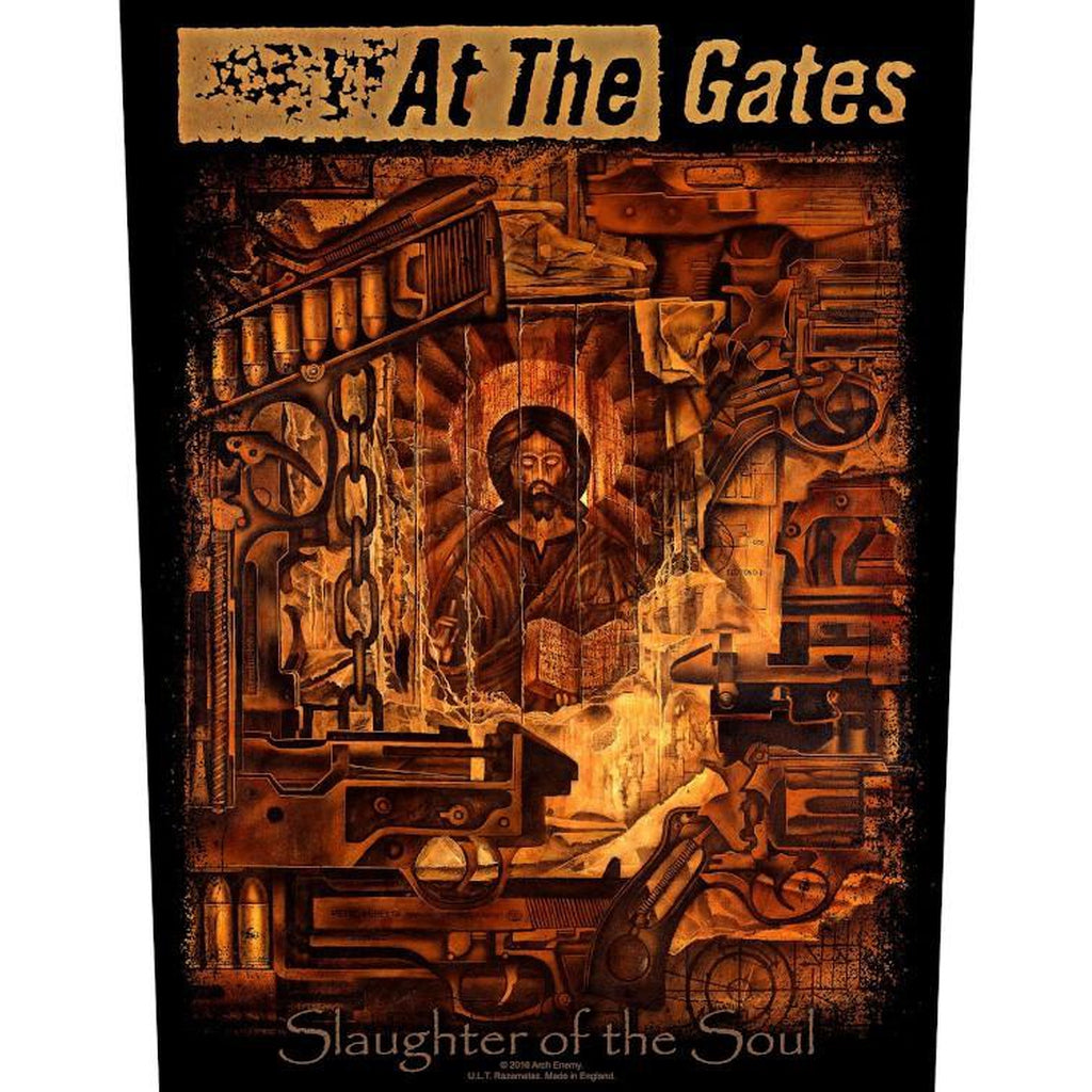 At the Gates - Slaughter Of The Soul selkämerkki - Hoopee.fi
