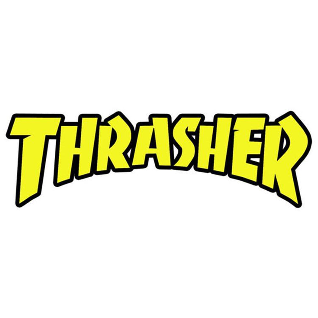 Thrasher - Yellow logo tarra - Hoopee.fi