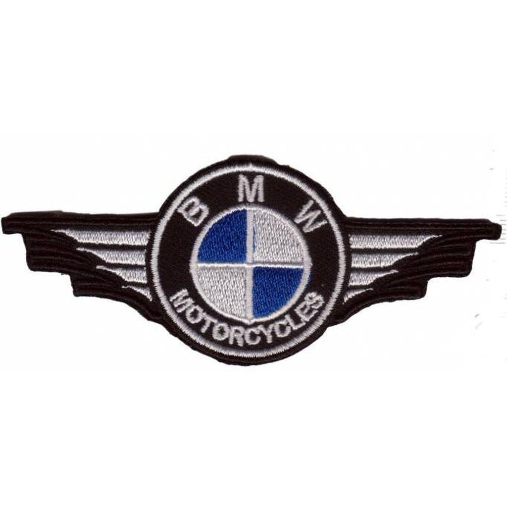 BMW motorcycle wings hihamerkki - Hoopee.fi