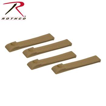 Image of Rothco MOLLE Replacement Straps - 4 Pack