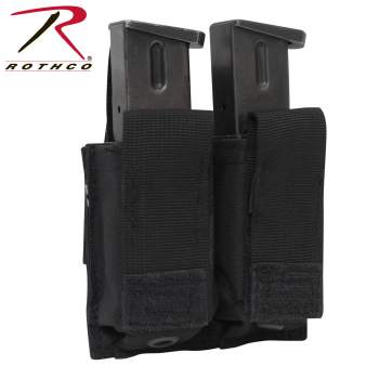Rothco MOLLE Double Pistol Mag Pouch