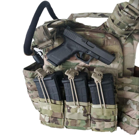 Weapon Mount Magnet mounting vest