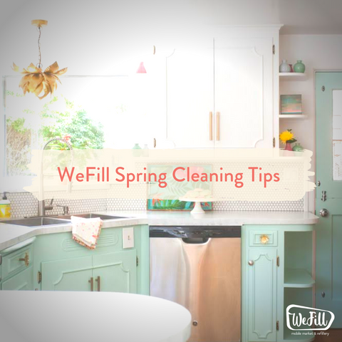 Spring zero waste cleaning tips
