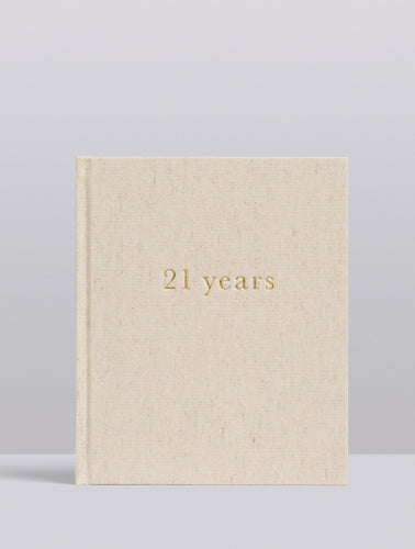 21 Years of You Journal Write To Me
