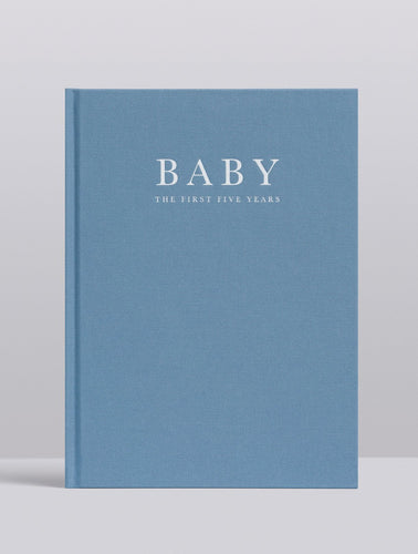 Baby. Birth to Five Years (Blue) Journal Write To Me