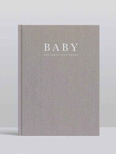 Baby. Birth to Five Years (Grey) Journal Write To Me