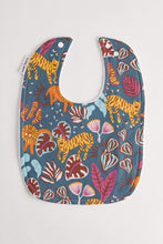 Load image into Gallery viewer, Big Cats Wild Dusk Classic Bib Bib Tilda & Moo