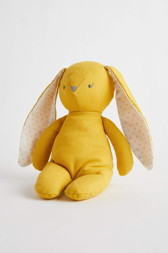 Bobby Floppy Bunny 25cm (Butterscotch Linen) Soft Toy Alimrose
