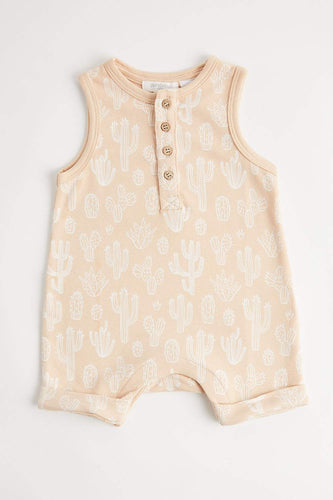 Cactus Sands Growsuit Growsuit Purebaby