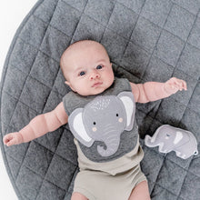 Load image into Gallery viewer, Elephant Bib Bib Mister Fly