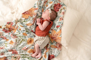 Le Piccadilly Swaddle (120cm x 120cm) Swaddle Pop Ya Tot