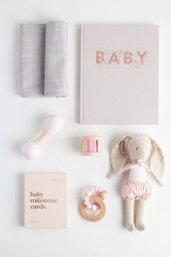 Milestone Hamper (Blush) Hamper Solibee