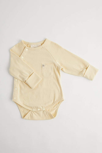 Organic Long Sleeve Bodysuit (Pear) Bodysuit Our Joey