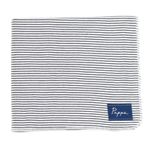 Load image into Gallery viewer, Petey Luxe Organic Wrap (Black & White Stripe) Swaddle Pappe