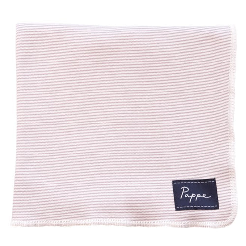 Petey Luxe Organic Wrap (Elderberry Stripe) Swaddle Pappe
