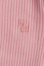 Load image into Gallery viewer, Rib Henley Bodysuit (Long Sleeve - Dusty Rose) Bodysuit Purebaby