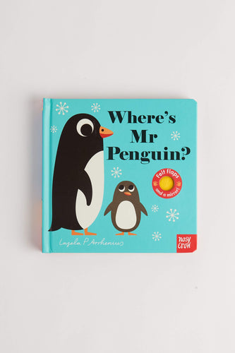 Where's Mr Penguin? by Ingela P Arrhenius (Board Book) Board Book Nosy Crow