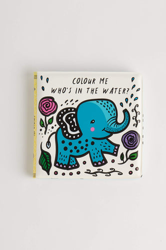 Who's in the Water? by Surya Sajnani (Bath Book) Bath Book Wee Gallery