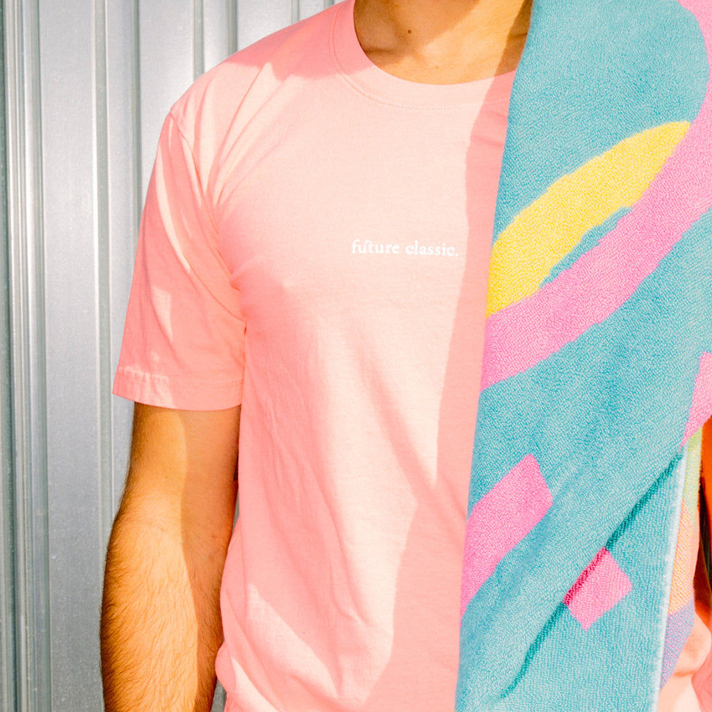 'The Markell' Salmon Short Sleeve Tee