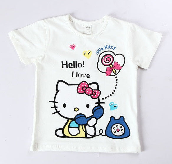 c16b0fb36e4d3 Girl T shirt H M Hello Kitty – PIPI PUPU