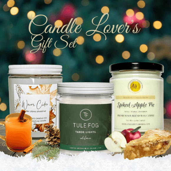 Candle Lover's Gift Set - Holiday Limited Edition - The Spotlight Box