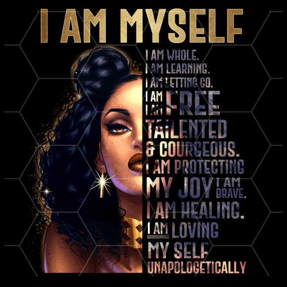 I AM Myself magnet - The Spotlight Box