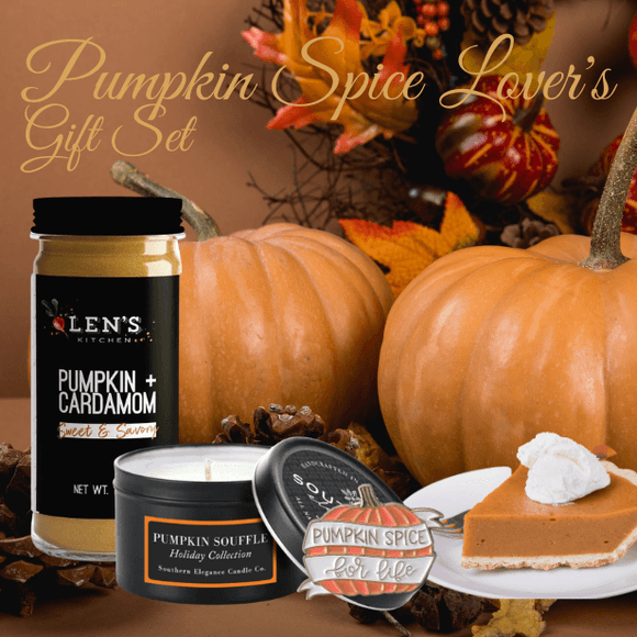 Pumpkin Spice Lover's Gift Set - Holiday Limited Edition - The Spotlight Box
