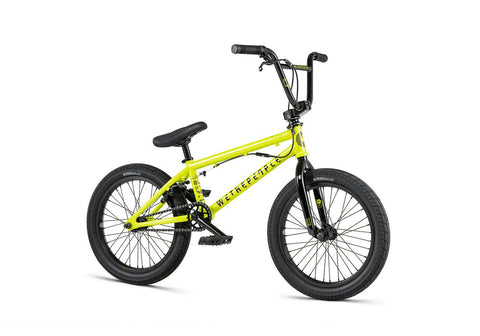 Wethepeople Freestyle BMX Rad CRS FS 2020 - 18 Zoll gelb - Bikers Base