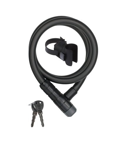 ABUS Spiralschloss 6415K / 120cm / 15 black  Abus Level 5