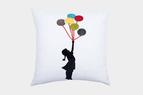 BALLOONS OF JOY CUSHION