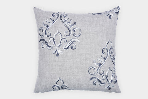 BAROQUE GREY CUSHION